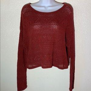 Peruvian Connectiom Pima Cotton knit top size M